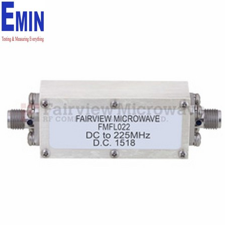 Bộ lọc SMA Female Fairview FMFL022 (225 MHz )