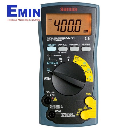 Sanwa CD771 Digital Multimeters (0.5% )