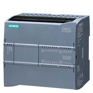 CPU 1214C, DC/DC/RELAY, 14DI/10DO/2AI , 6ES7214-1HG40-0XB0