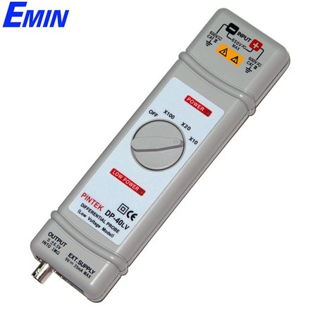 Que đo vi sai Pintek DP-40LV (10mV~650Vp -p/40MHz Low Voltage Model )