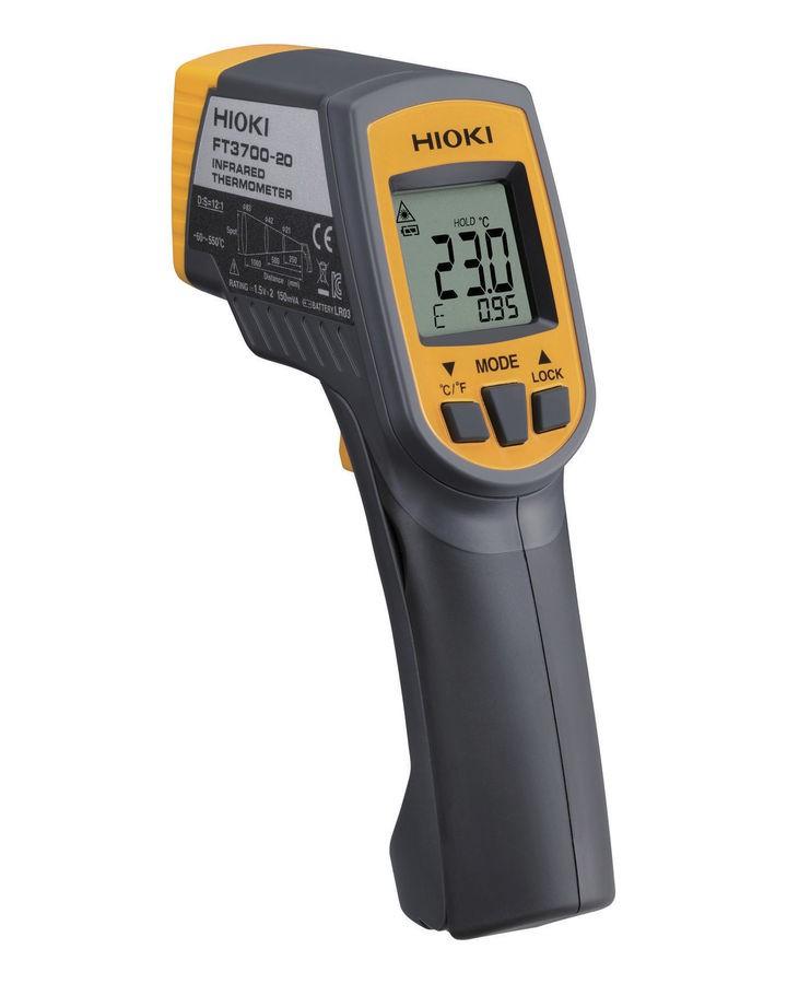 Kết quả hình ảnh cho súng đo nhiệt độ hồng ngoại Hioki FT3700-20