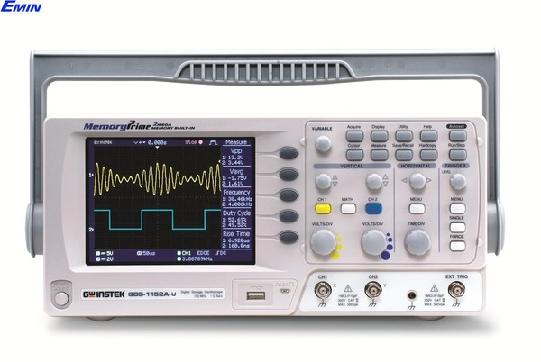 Digital Oscilloscopes GWinstek GDS-1102A-U (100Mhz, 2 CH,1Gsa/s)
