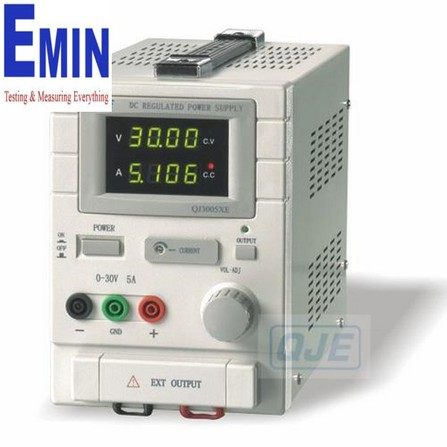 QJE QJ3005XEH DC Regulated power supply (0-30V, 0-5A)