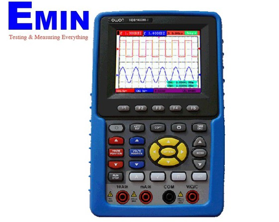 Owon HDS1022M-I handheld DSO w/ channel isolation  (20MHz, 100MS/s, insulated input)