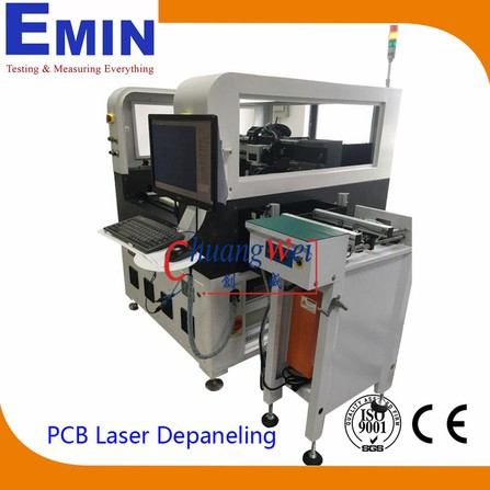 Máy cắt mạch in PCB Chuang Wei Inline Laser Depaneling