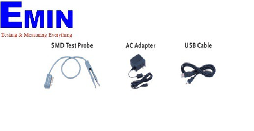 Accessory Pack for LCR-914 (SMD Test Probe,AC Adapter, USB Cable)