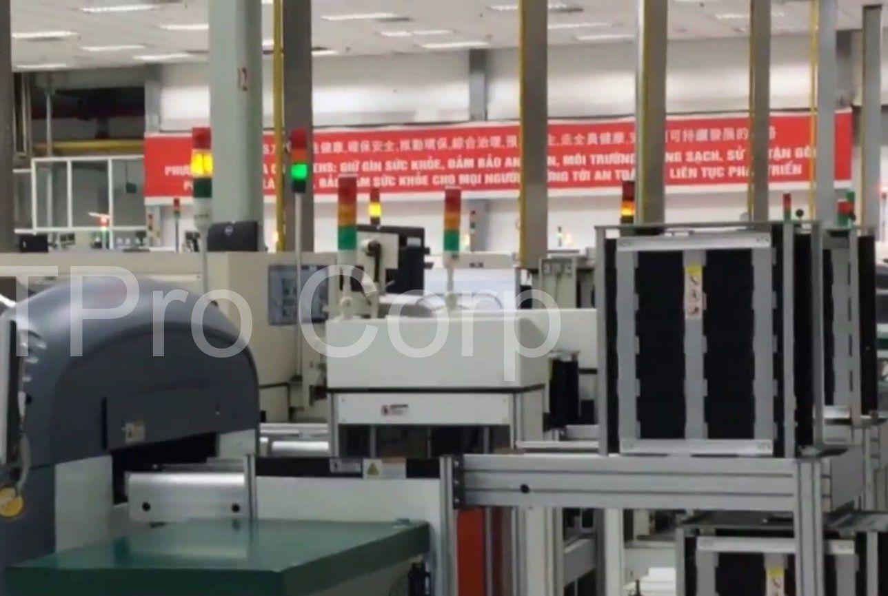 hệ thống andon giám sát cảnh báo sự cố sản xuất