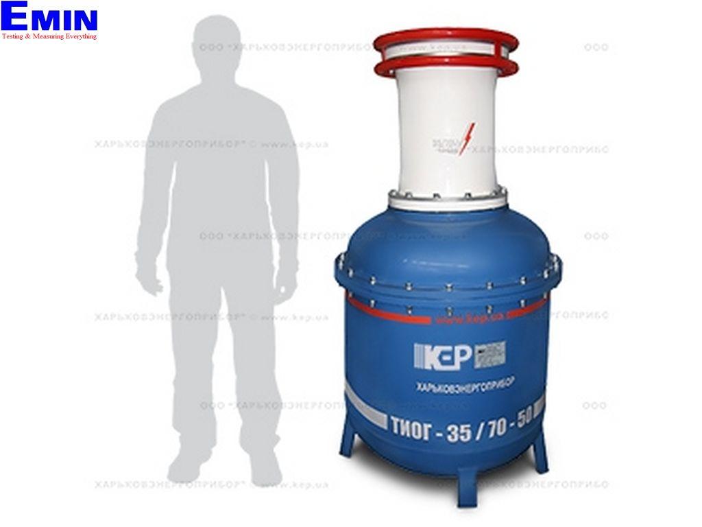 KEP TIOG-35/70-50 単相六フッ化硫黄(SF 6)テスト変圧器