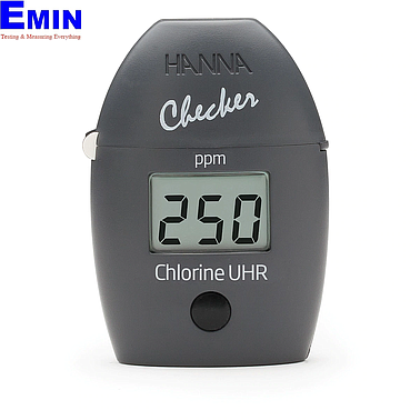 Hanna HI771 Total Chlorine Ultra High Range Checker (0 - 500 ppm)