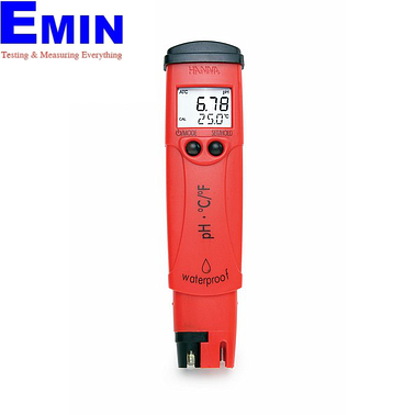 Hanna HI98128 pHep®5 pH/Temperature Tester (-2.00 - 16.00 pH)