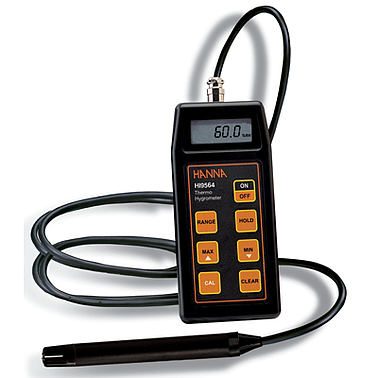 Hanna HI9564  Portable Thermo-Hygrometers (20.0 to 95.0%, 0.0 to 60.0°C )