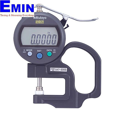 Mitutoyo 547-300S Digital Thickness Gage (0-10mm/ 0.0005 inch)