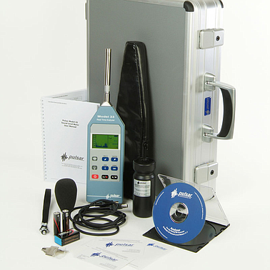 Pulsar 33K Sound level meter  Real Time Analyser with Real Time KIT
