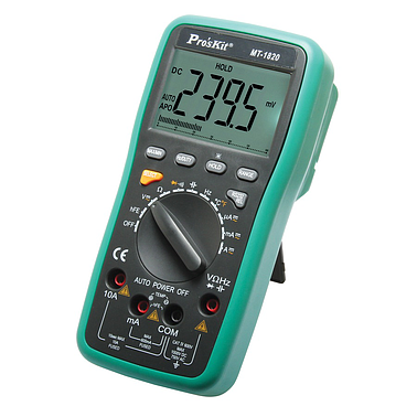 ProsKit MT-1820 3 5/6 Dual Display DMM w/USB Connector