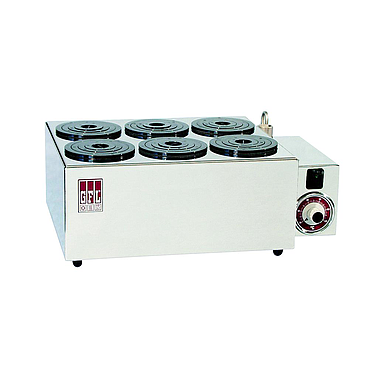 GFL 1031  Water Bath for fume hoods (6 Openings with sets of rings, to 99.9 °C)