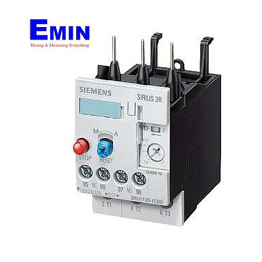 Siemens 3RU11 26-1FB0 Thermal Relay 3.5...5 A, S0, 1NO+1NC