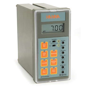Hanna HI 8711 pH Analog Controller (Dual Output and Self-Diagnostic Test)