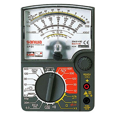 Sanwa SP21 Analog Multimeter (3%)