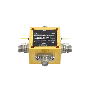 FairviewMicrowave FMSW2013, 2.92mm PIN Diode Switch SPDT (50 Ohm, 70 MHz - 40 GHz, +27 dBm, 2.92mm Female)