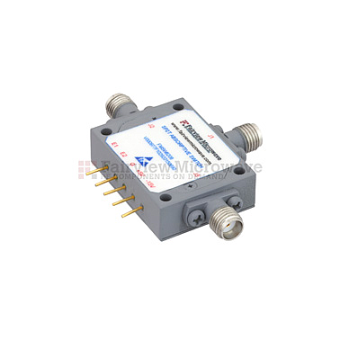 FairviewMicrowave  FMSW6208, Field Replaceable SMA SPDT PIN Diode Switch Absorptive (50 Ohm, 2GHz - 4 GHz, +30 dBm, SMA Female)
