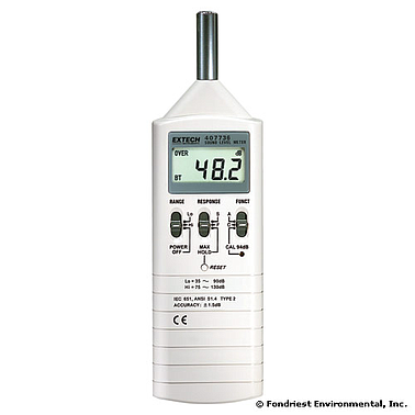 Extech 407736 Digital Sound Level Meter (130dB)