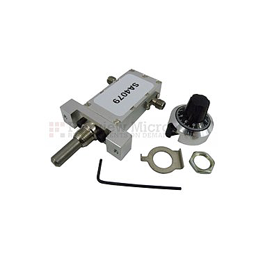 Fairviewmicrowave SA4079  0 to 40 dB Continuously Variable Attenuator SMA Female To SMA Female From 12.4 GHz To 18 GHz Rated To 5 Watts in a Dial Design