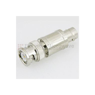 Fairview SA03B-01 1 dB Fixed Attenuator BNC Male To BNC Female Up To 3 GHz Rated To 2 Watts With Brass Nickel Body