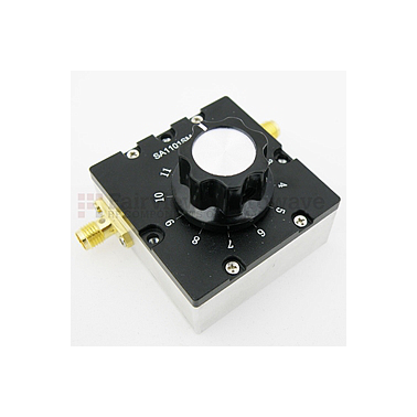 Fairview SA1101SMA  1.5 to 11 dB Step Attenuator With a 1 dB Step SMA Female Connectors Rated Up To 2.7 GHz and Up to 2 Watts in a Dial Design