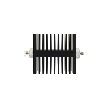 Fairview  SA18SFSF50W-10 10 dB Fixed Attenuator SMA Female To SMA Female Directional Up To 18 GHz Rated To 50 Watts With Black Aluminum Heatsink Body