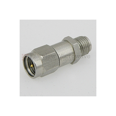 Fairview SA18H-17 17 dB Fixed Attenuator SMA Male To SMA Female Up To 18 GHz Rated To 2 Watts With Passivated Stainless Steel Body