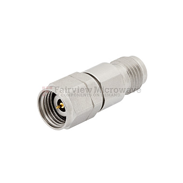Fairview  SA5074-20  20 dB Fixed Attenuator 2.4mm Male To 2.4mm Female Up To 50 GHz Rated To 1 Watt With Passivated Stainless Steel Body