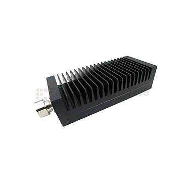 Fairview  SA3D200-20 20 dB Fixed Attenuator 7/16 Male To 7/16 Female Up To 3 GHz Rated To 200 Watts With Black Aluminum Heatsink Body