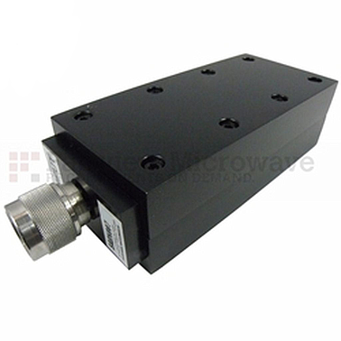 Fairview SA8N007-30 30 dB Fixed Attenuator N Male To N Female Directional Up To 8.5 GHz Rated To 150 Watts With Black Aluminum Heatsink Body