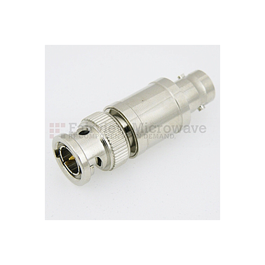 Fairview  SA03B75-05 5 dB Fixed Attenuator 75 Ohm BNC Male To 75 Ohm BNC Female Up To 3 GHz Rated To 2 Watts With Brass Nickel Body