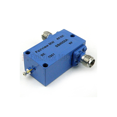 Fairview SB4000A  2.92mm Bias Tee From 0.03 MHz to 40 GHz Rated To 500 mA And 25 Volts DC