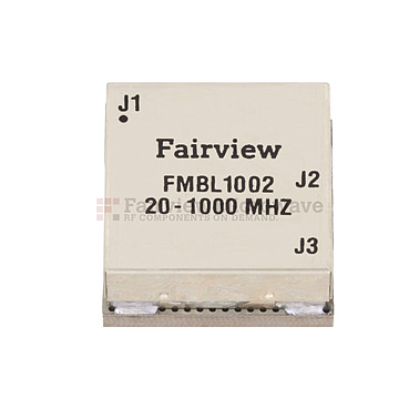 Balun Fairview  FMBL1002 (50 Ohm - 25 Ohm, 20 MHz - 1,000 MHz , 100 Watts )