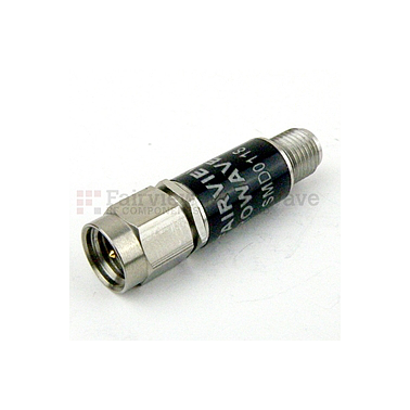 Bộ phát hiện Fairview SMD0118 (SMA-Male,SMA-Female,10 Mhz-18,5 GHz)