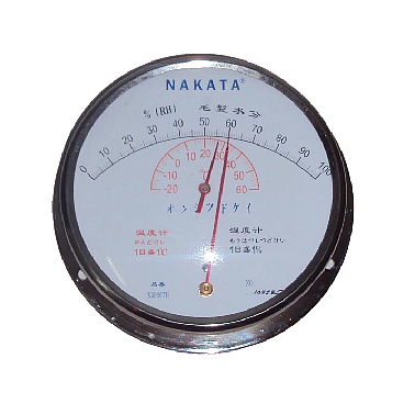 Thermo-hygrometer the 20th Nakata NM (0% - 100%)
