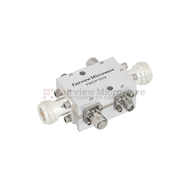 Fairview FMCP1019  N Dual Directional Coupler 20 dB Coupled Port From 2 GHz to 6 GHz Rated To 200 Watts