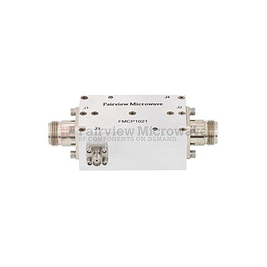 Fairview FMCP1021 N Dual Directional Coupler 50 dB Coupled Port From 80 MHz to 1,000 MHz Rated To 200 Watts