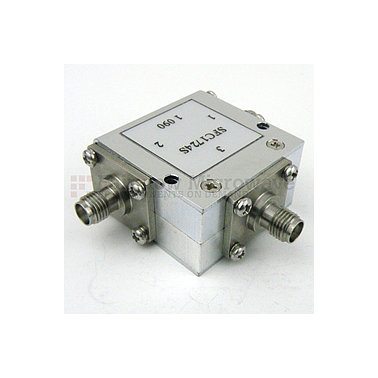 Fairview SFC1724S Circulator SMA Female With 17 dB Isolation From 1.7 GHz to 2.4 GHz Rated to 10 Watts