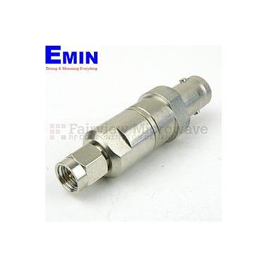 Fairview SI1560 Matching Pad 50 Ohm SMA Male To 75 Ohm BNC Female Operating From DC to 2 GHz RoHS Compliant