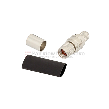 Conector Fairview EZ-400-FM-75 (75 Ohm,F Male, LMR-400-75 Cable)