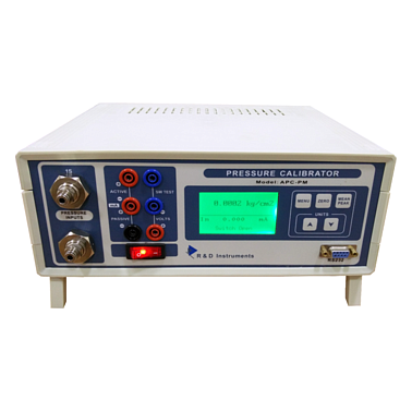 R&D Instrument APCPM-5000 LP Pressure Calibrator- Panel Mounted (5000 mmH2O, 0.05%)