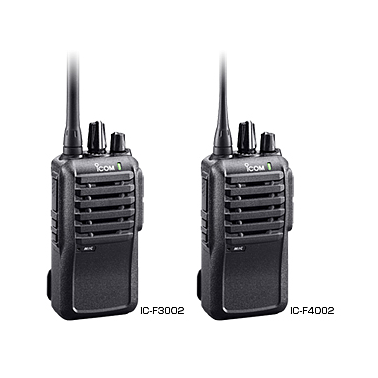 ICOM IC-F3002 - VHF (Pin BP-265) UHF Portable Radio (136-174 Mhz,16CH, 5W)