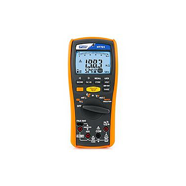 HT Instrument HT701 Professional TRMS multimeter + Insulation meter