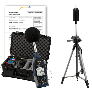 PCE-428-EKIT Outdoor Noise Dose Meter Kit  (25~136 dbA)