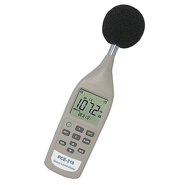 PCE-318 Noise Meter / Sound Meter (26~130 dB)