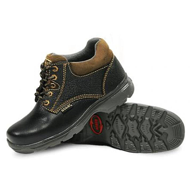 OSCAR 136-93A Black Safety Shoes