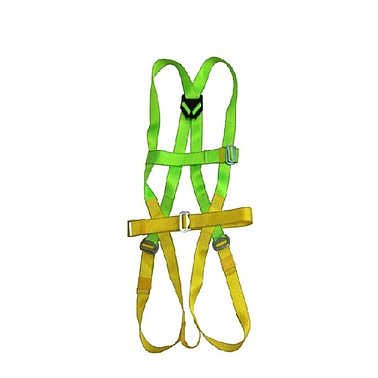ADELA H4501+EW71051 Full Body Harness Completed set with aluminium Lanyard